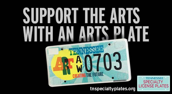 Support the Arts with Specialty License Plates
