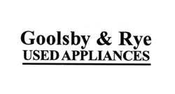 Goolsby & Rye Used Appliances