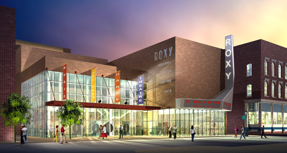 Take a part in making the Roxy Center for Arts and Education a reality.