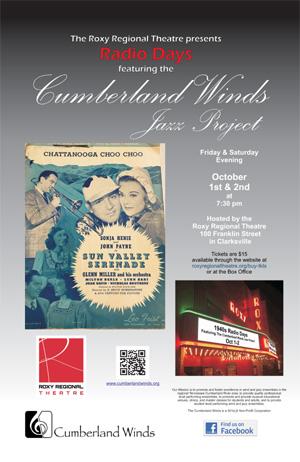Cumberland Winds Jazz Project 1940s Radio Days
