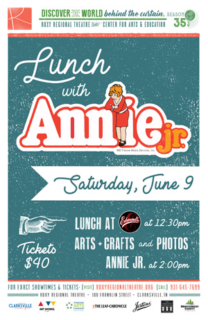 Lunch with Annie