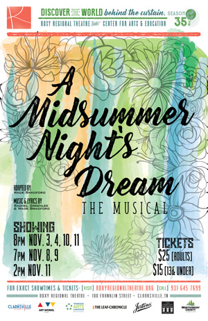 A Midsummer Night S Dream Takes A Musical Twist Nov 3 Nov 11