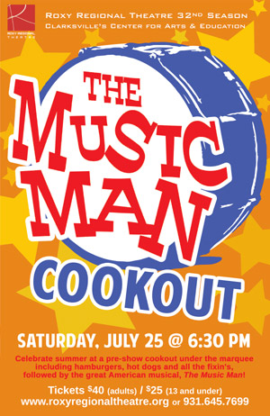 The Music Man Cookout