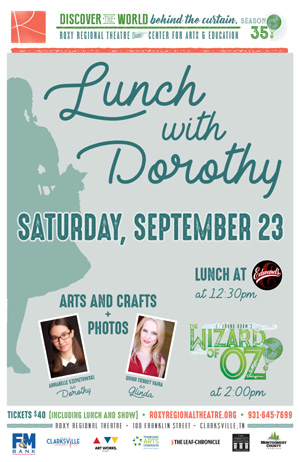 Lunch with Dorothy